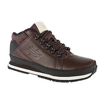 New balance men's H 754 leather sneaker-boot Brown