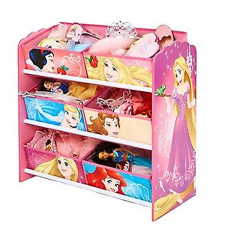 Wooden toy store shelf Disney Princesses