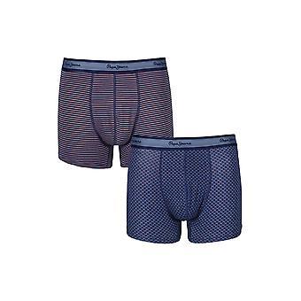 New Designer Mens Pepe Jeans Boxer Trunk Shorts Burton