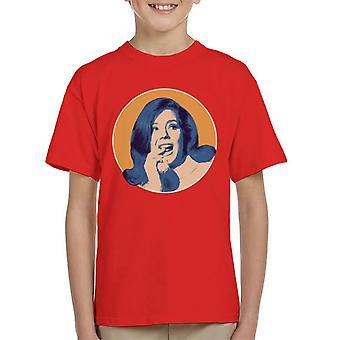 TV-Zeiten Diana Rigg Kinder T-Shirt