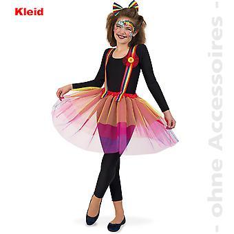 Costume féminin arc-en-ciel licorne météo fille clown teen Mesdames costume