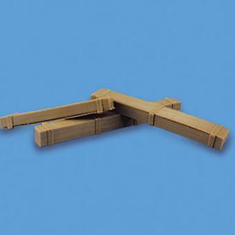 Model Scene tilbehør OO/HO pakkasser (3)