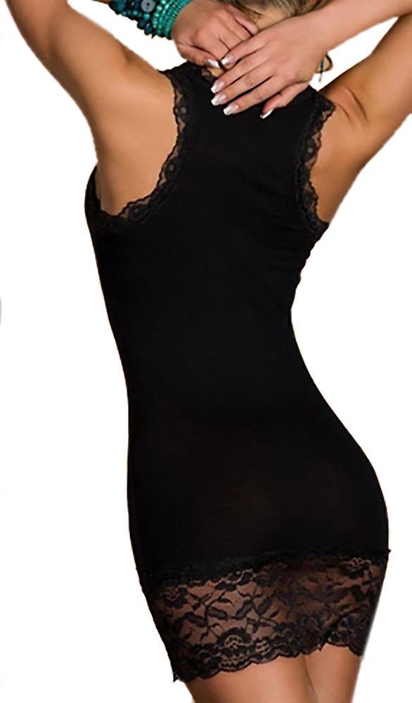 Waooh dress lace inserts