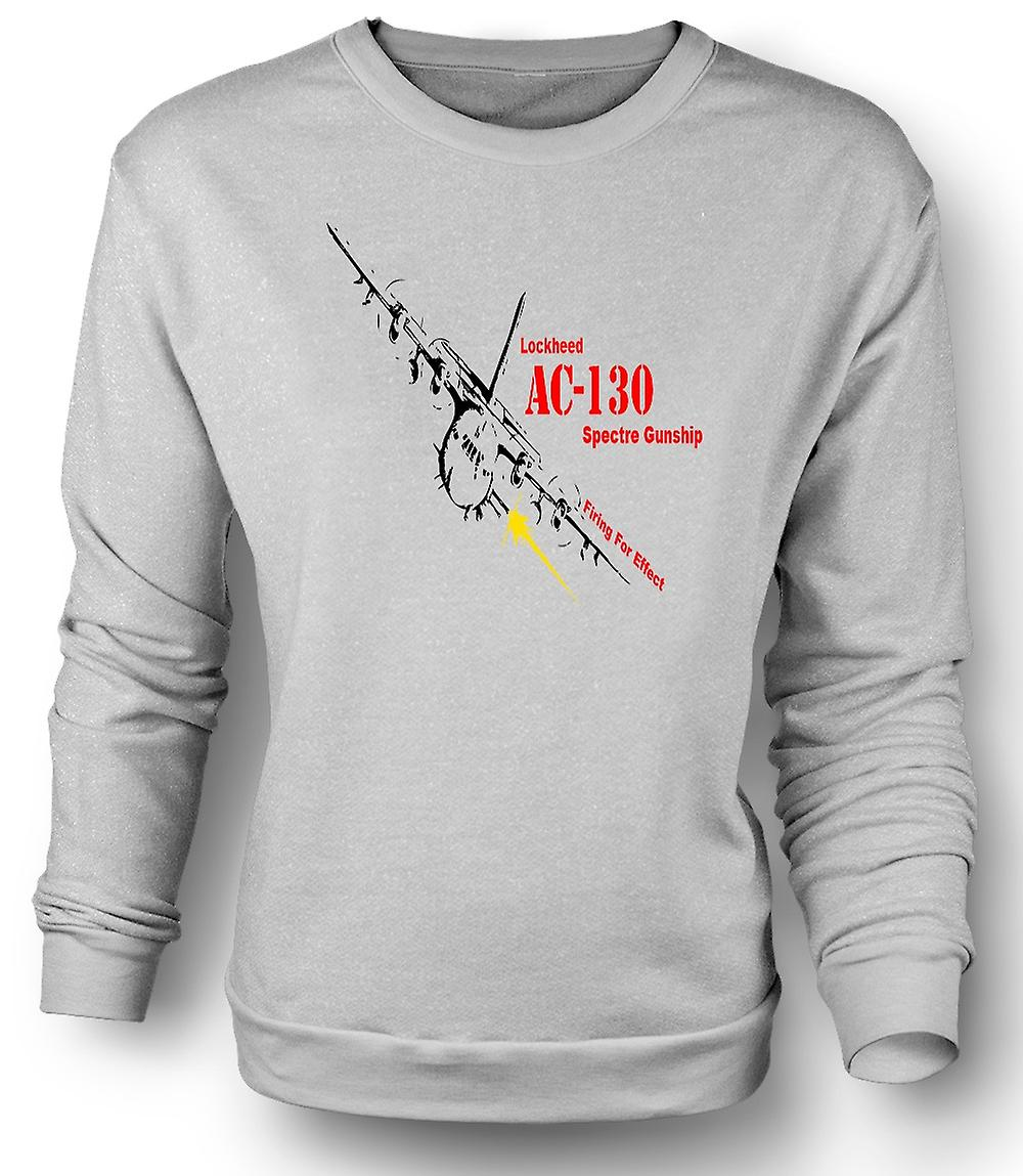 Mens Sweatshirt Lockheed Ac0 Spectre Gunship