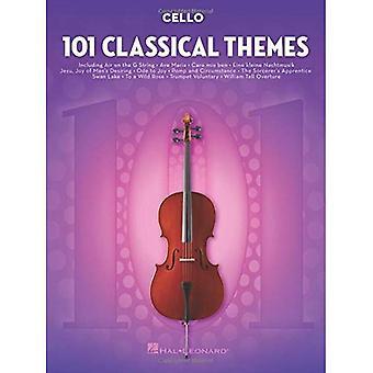 101 klassiska teman för Cello
