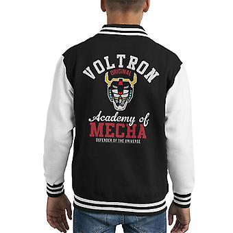 Voltron Academie van Mecha Kid's Varsity Jacket