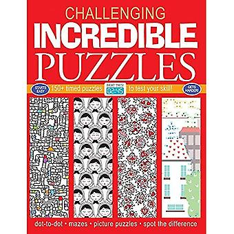 Incredible Puzzles: 150+ Timed Puzzles to Test Your� Skill (Challenging... Books)