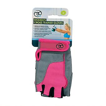 Fitness Mad Ladies Cross Training Gloves in Pink