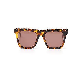 Stella Mccartney Brown Acetate Sunglasses