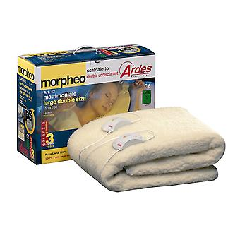 Heated beds electric 50% wool - 50% polyester.
