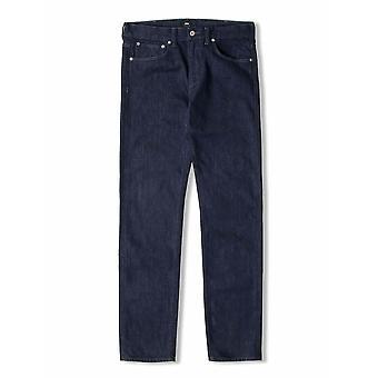 Edwin Edwin Dark Blue Rinsed ED-80 Slim Tapered Jean
