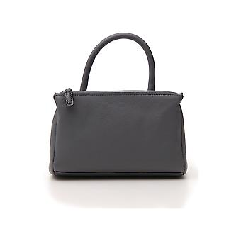 Givenchy Pandora Grey Leather Shoulder Bag
