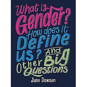 Vad är kön? Hur definierar det oss? Och andra stora frågor för barn