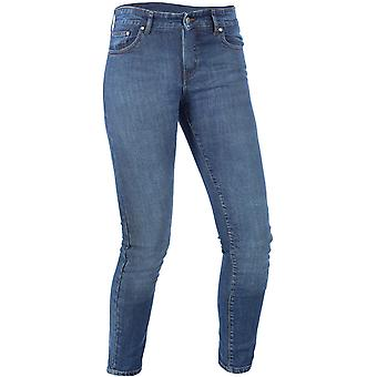 Oxford Blue Hinksey - Short Womens Motorcycle Jeans