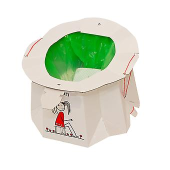Tron Single Use, Collapsible, Disposable, Portable Travel Potty