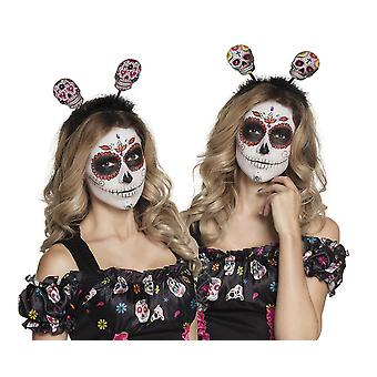 Day of the Dead Tiara Boppers Halloween Accessory
