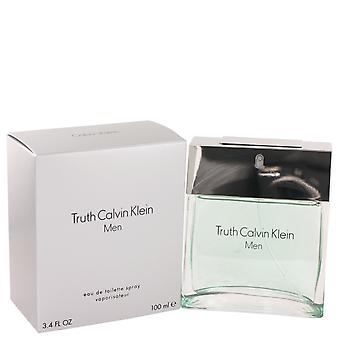 VERDAD by Calvin Klein Eau De Toilette Spray 3.4 oz/100 ml (hombres)