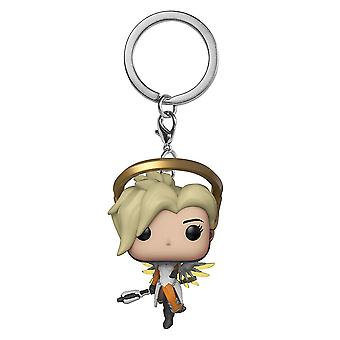 Overwatch Mercy Pocket pop! Nøglering