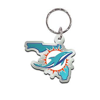 Wincraft STATE Keychain - NFL Miami Dolphins