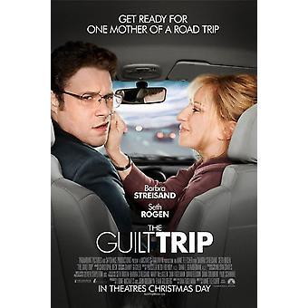 The Guilt Trip Poster Double Sided Regular (2012) Original Cinema Poster
