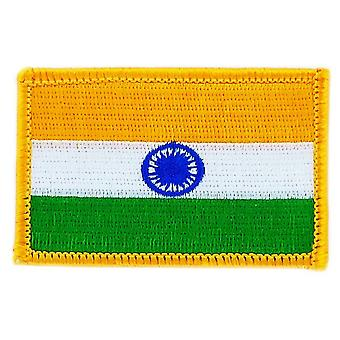 Patch Patch Brode Bandiera India Termandanetto indiano Patche Badge Blason
