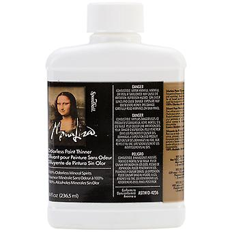 Mona Lisa Odorless Paint Thinner 8 Ounces 190008