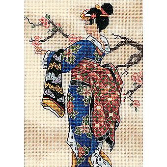 Gold Collection Petite Mai Counted Cross Stitch Kit 5