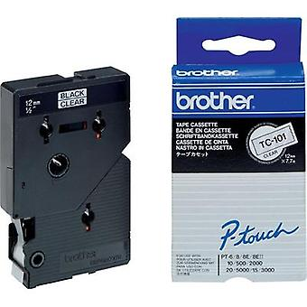 Labelling tape Brother TC-101 Tape colour: Trans
