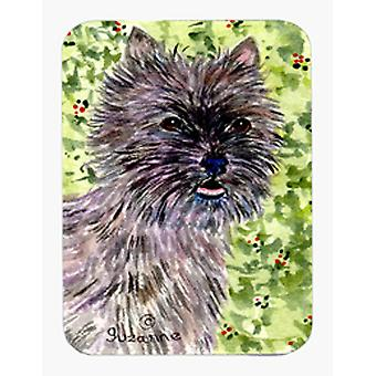 Cairn Terrier Mouse Pad / Hot Pad / Trivet