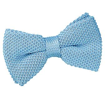 Baby Blue Knitted Bow Tie