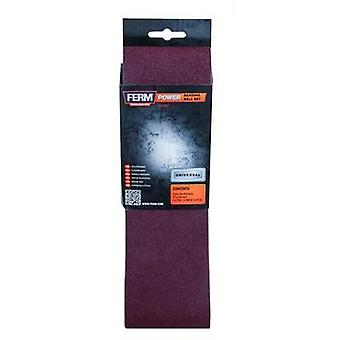 Sandpaper belt Grit size 120 (L x W) 533 mm x 75 mm Ferm BSA1013 3 pc(s)