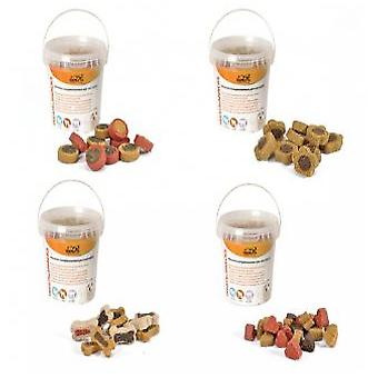 Camon Heart Shape Container 140 gr Snacks (Dogs , Treats , Chewy and Softer Treats)