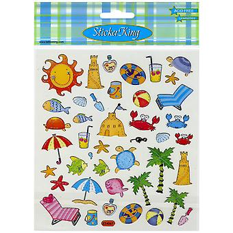Multicolored Stickers-Summer Icons SK129MC-477