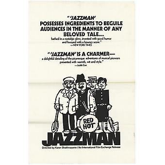 Rote heiße Jazzman Movie Poster drucken (27 x 40)