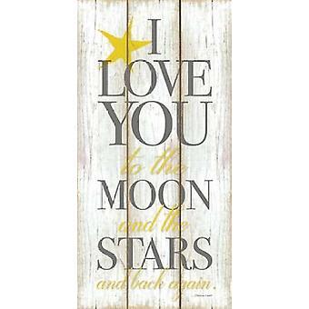 The Moon Poster Print by  Stephanie Marrott