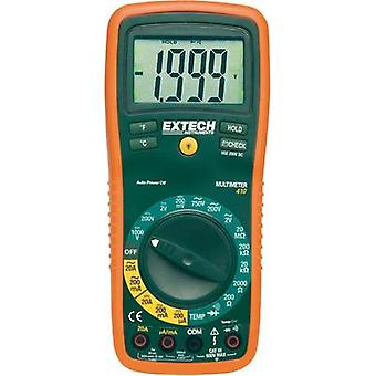 Handheld multimeter digital Extech EX410 Calibrated to: Manufacturer standards CAT III 600 V Display (counts): 2000
