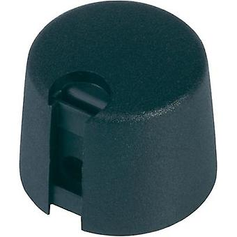 Control knob Black (Ø x H) 20 mm x 16 mm OKW A1020069 1 pc(s)