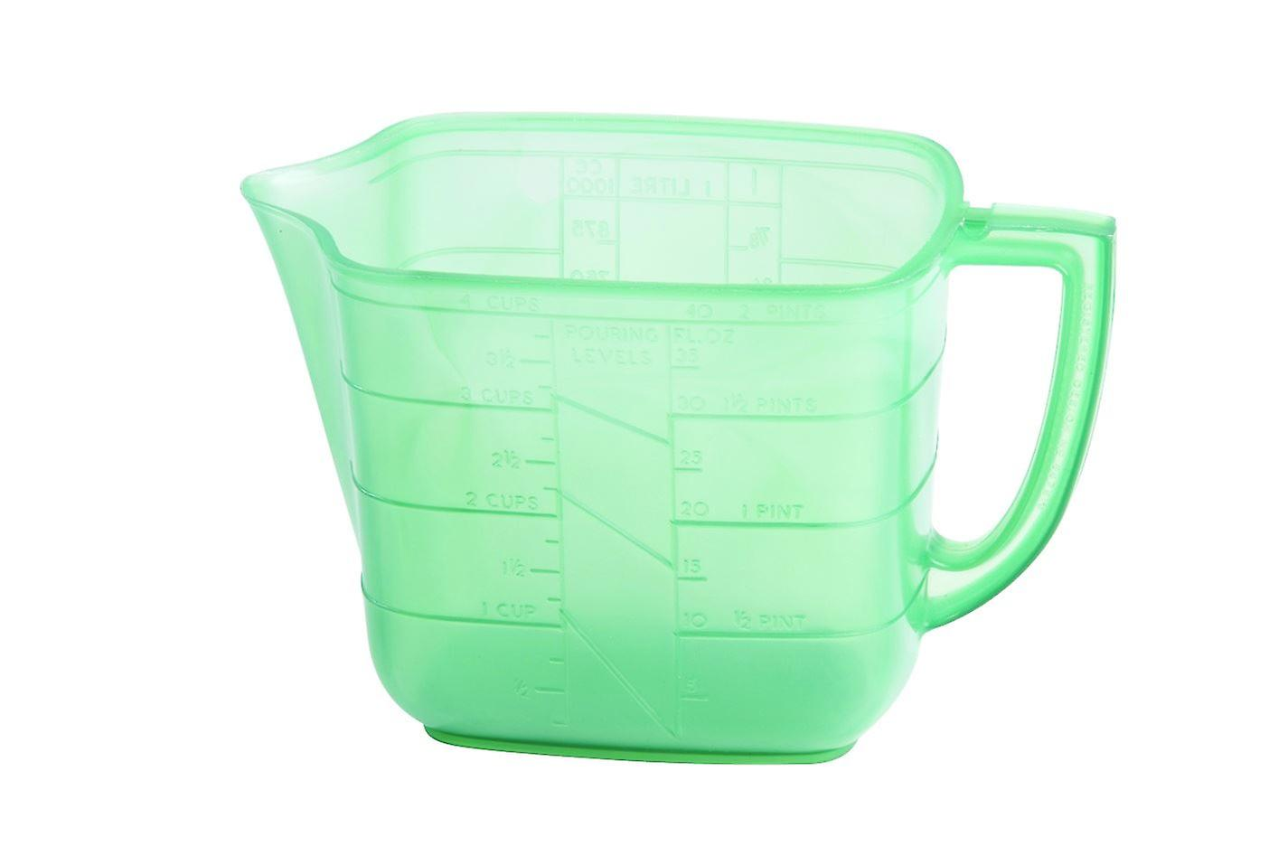 Measuring Jug Green