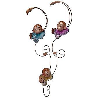Lille Baby aber Link sammen juleferien ornamenter sæt af 3