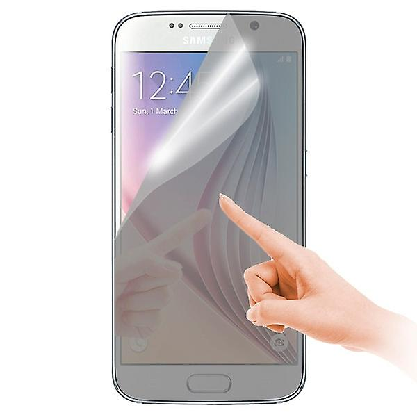 Mirror screen protector for Samsung Galaxy S6 G920 G920F + polishing cloth