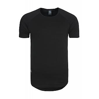 Spartans history basic oval shirt men's T-Shirt black 400STK