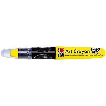 Marabu Creative Art Crayons-Sunshine Yellow 1409003-220
