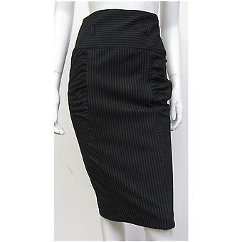 Río isla estilo raya acanalada falda SK081-18