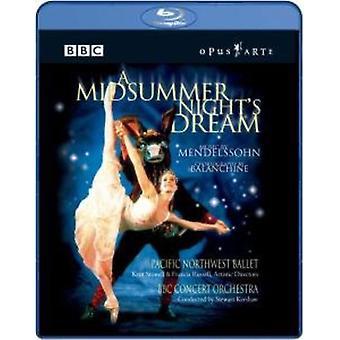 F. Mendelssohn - Midsummer Night's [BLU-RAY] USA import
