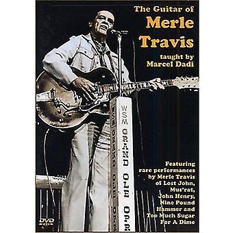 Marcel Dadi - Merle Travis Gutar [DVD] USA import