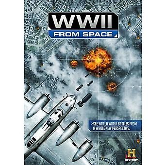 WWII From Space [DVD] USA import