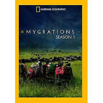 Mygrations: Season 1 [DVD] USA import