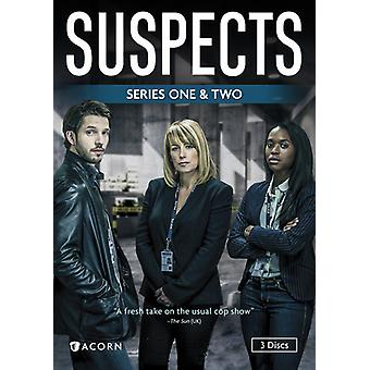 Suspects: Series 1 & 2 [DVD] USA import
