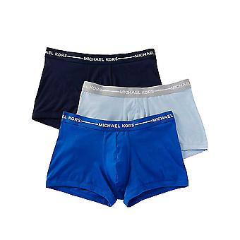 Michael Kors Ultimate Cotton Stretch Trunks in Harmony