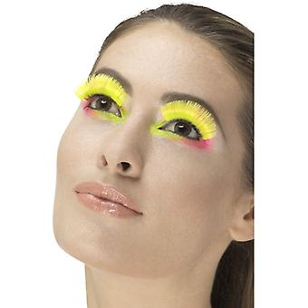 80 lashes neon yellow